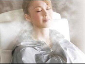 ヨサパーク ミスト 津南店(YOSAPARK mist)の写真/椅子に座るだけの楽々施術♪厳選ハーブミストの温浴効果で代謝をアップ!内側から美を引き出します。