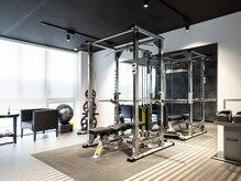 完全個室のトレーニングルーム