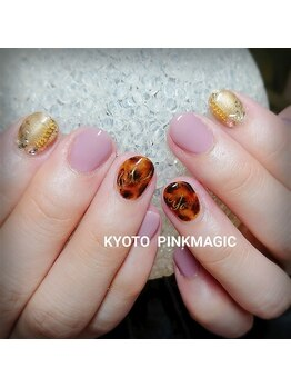 ピンクマジック(PINKMAGIC)/秋色ネイル