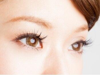 ミリィー(eyelash&nail salon Milly)の写真/【持続力が自慢】付け放題ご新規様¥7980★まつ毛の状態・目の形に合ったデザインで施術!モチの良さも◎