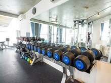プレミジム(PREMI GYM)の雰囲気(トレーニング前に筋肉量・体脂肪・内臓脂肪・基礎代謝などを計測)