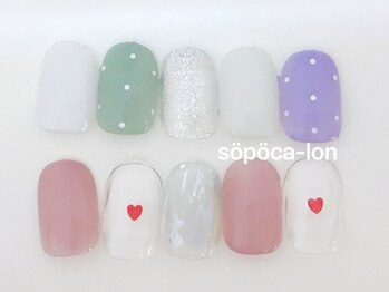 ソポカロン 富小路店(sopoca lon)/Aコース4400円 パラジェル