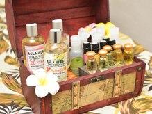 サロン ド チャチャ 大宮マルイ店(Salon de chacha)の雰囲気(20種類以上の天然精油やハワイの天然リゾートオイル♪)