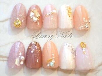 ラグジュアリーネイルズ カワグチ(Luxury Nails Kawaguchi)/シンプルcollection