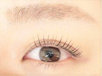 アイラッシュサロン ブラン アリオ鷲宮店(Eyelash Salon Blanc)の写真/お顔の印象は目元で決まる◆まつげパーマ×美眉スタイリング◆貴方だけの黄金比率でマスク美人に♪
