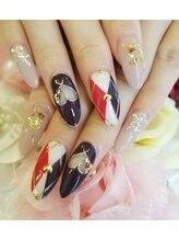 トリーシア(Nail & Beauty Salon Tri-xia)/ダイヤ柄ネイル