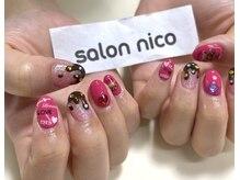 サロンニコ(Salon nico)の雰囲気(ガッツリアートで個性的なデザインもご用意してあります!)