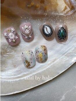 ネイル バイ ハル(nail by halu)の写真/凝ったデザインもお任せください!パーツと間違えるほどのクオリティです。持ち込みデザインOK!