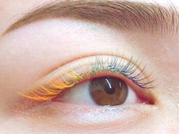 ニューディール 大通店(New deal)の写真/今話題のカラーエクステ☆ナチュラル~ボリュームまでお任せ!瞳や髪色に合わせていつもと違う自分を演出♪