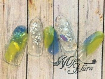 ミハフルーラ 与野(Home Nail Salon Mija Flura)/【30分で!】ニュアンス 5980円