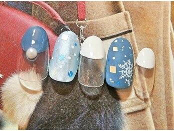 ビューティーサロン ルームフォーユー(Room 4U)/定額サンプル竹☆雪の結晶マット