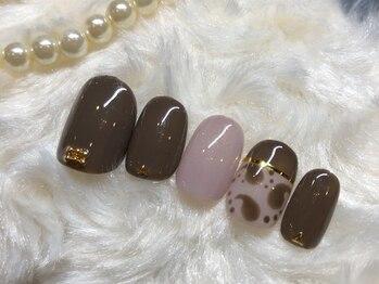 ネイルアンドアイラッシュ ブレス エスパル山形本店(BLESS)/個性派ペイズリー!