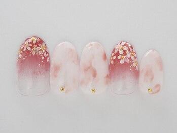 エリール(elire)/女の子らしく柔らかな桜マーブル