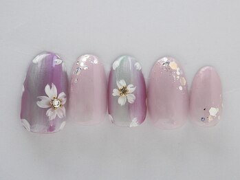 エリール(elire)/オーロラ縦グラデ☆可愛い桜