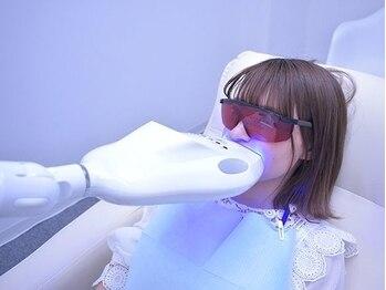 ネイルサロンサクラの写真/【セルフホワイトニング¥3300】歯本来の自然な白さを取り戻せるよう導きます♪効果がなければ全額返金!