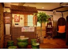 美フレッシュ 銀座店(美FRESH)の雰囲気(オリエンタルな雰囲気で非日常空間が味わえます♪)