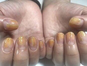 パルネイル(PAL nail)/水彩ネイル