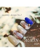 アウリン(AURYN)/12月限定monthly design No,2