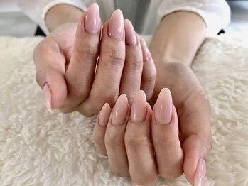"""ジェインズネイル(J's-nail)の写真/薄爪、二枚爪でモチが悪い方にこそ試してほしい♪""""自爪に優しい「パラジェル」使用&フィルイン施術"""""""