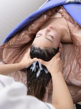 デマントイド(Demantoide&Co)の写真/【頭皮からドロドロ不要物?】リピーター続出◆頭から本気のDETOX!スキャルプケア90分¥8640★