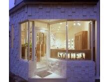 ソルファ プライベートビューティー(SOLFA private beauty)の雰囲気(1Fは美容室SOLFAです。ホットペッパーから予約可能です。)