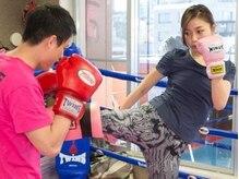 エスジム 川崎店の雰囲気(キックボクシングジムなので、本格的なトレーニングができます!)