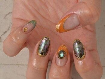 ネイルサロン クリア(Nailsalon Clear)/ニュアンスアートは、個性が光る