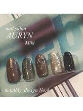 アウリン(AURYN)/12月限定monthly design No,4