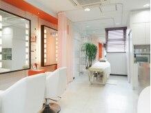 美容室併設サロン♪カーテンでの仕切りです。