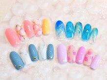 Lea nail(レアネイル)の雰囲気(定額デザインは種類を豊富にご用意しております☆)