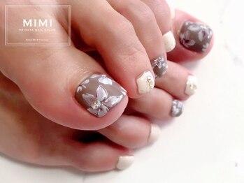 ミミ(MIMI)/フットネイル フラワー