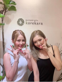 コレカラ フェイシャルエステカフェ/CYBER JAPAN渡辺姉妹