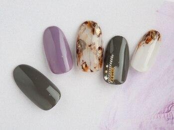 レイ ネイルアンドセレクトショップ(Lei Nail&Selectshop)/レオパードネイル