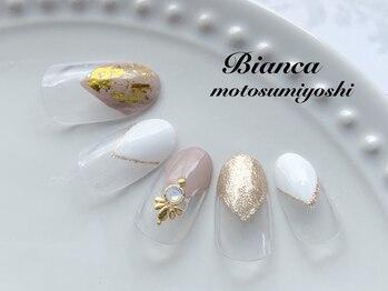 ビアンカ 元住吉店(Bianca)/Vフレンチネイル¥7980