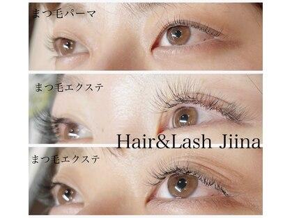 ヘアアンドラッシュ ジーナ(Hair&Lash Jiina)の写真