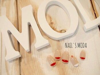 ネイルズ モダ(NAIL'S MODA)/9月の新作定額/根元フレンチ
