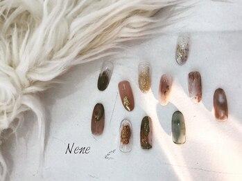 アイラッシュ ネイル ネネ(eyelash nail Nene)の写真/【ハンド・フットジェル/アートし放題】様々なアートが可能です!ニュアンスネイル個性派ネイルが得意☆