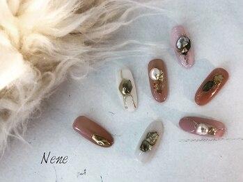 アイラッシュ ネイル ネネ(eyelash nail Nene)の写真/【パーツ・ストーンの種類が豊富◎】つけ放題なので種類が豊富はウレシイ☆要望が叶う♪豊富な技術が人気☆