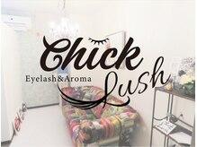 睫毛エクステアンドアロマ チックラッシュ(CHICK LUSH)