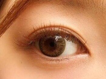 ティファアイラッシュアンドネイル 武蔵小杉(Tiffa eyelash&nail)の写真/【武蔵小杉9:00~21:00】人気のBrown◎カラエクボリュームラッシュ60束(200本前後)¥8000/セーブル100本¥7000