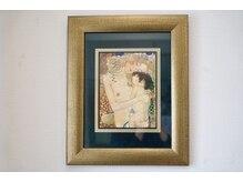 漢方セラピーサロン シエルブリュ(Ciel Bleu)/施術室の絵画