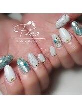 ピーナ ネイルアンドビューティー(Pina nail&beauty)/初夏に爽やかで可愛いシェル♪