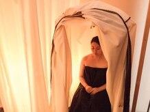 温活サロン 藻奥(macomo spa)の雰囲気(ハーブテントは一人用のスチームサウナです。)