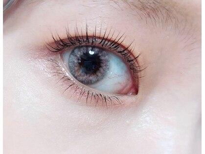 アイラッシュモーヴ(eyelash mauve)の写真