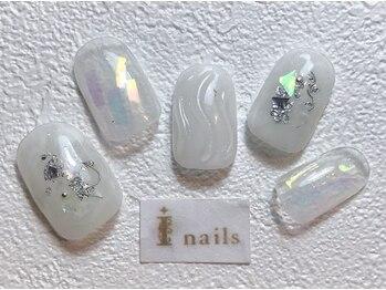 アイネイルズ 梅田店(I nails)/ホワイトニュアンス