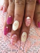 ネイルサロン アンジュ(Nail Salon Ange)/ピンクの♪