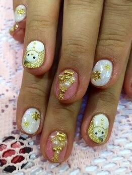ネイルサロン アンジュ(Nail Salon Ange)/THE☆クリスマスネイル