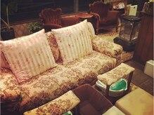 人気のフットネイルはソファー席でゆったりお過ごし頂けます♪