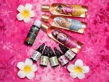 プアレイ(Pualei)の雰囲気(上質オイルを使用◎ハワイの香りにも癒される♪)