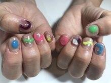 パルネイル(PAL nail)/カラフルネイル